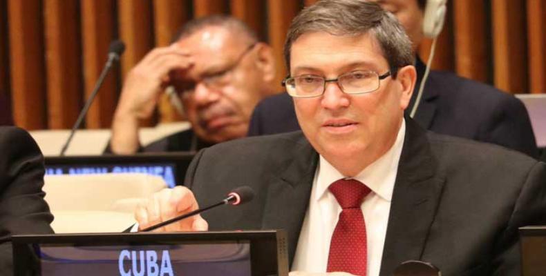 Canciller cubano presentará el informe ante la ONU