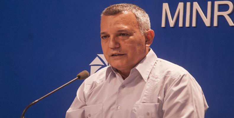 Antonio Israel Ybarra, Secretary of the Cuban National Commission on Drugs. Photo: PL