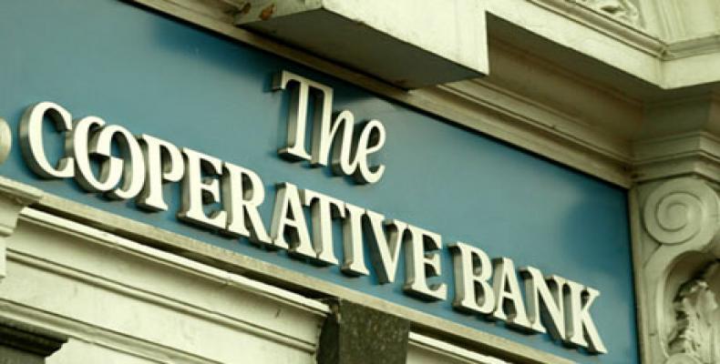 Banco Co-op Bank adquirido por parte de fondos especulativos (hedge funds) radicados en los Estados Unidos. (Foto/internet)