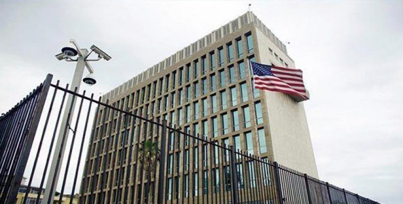 Embajada de Estados Unidos en La Habana. Foto: Archivo