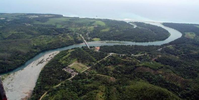 Cuenca del río Toa, una de las más importantes de Cuba y el Caribe por su biodiversidad y reservas acuíferas.Foto:ACN.