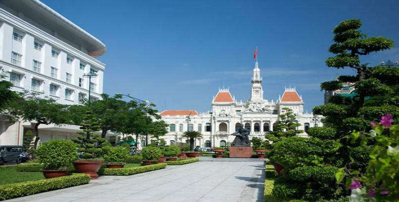 Ciudad vietnamita Ho Chi Minh