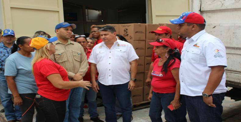 Luis Medina Ramírez, ministro de Alimentación, hizo público en la tarde de este miércoles que fueron enviadas 20.600 cajas de alimentos subsidiados a Cúcuta