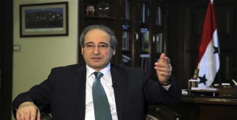 Vicministro pri eksteraj rilatoj, Faisal Mekdad