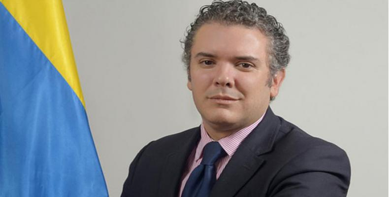 Ivan Duque, Colombia´s president-elect.
