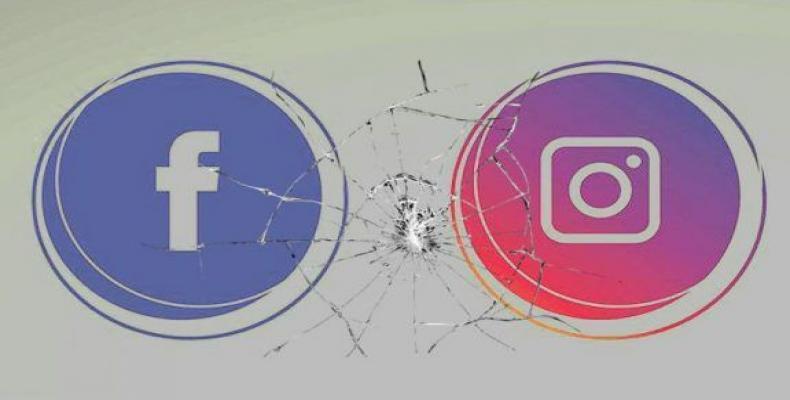 Facebook e Instagram, ambas propiedad de Mark Zuckerberg, colapsaron nuevamente este martes. Foto/ Cubadebate