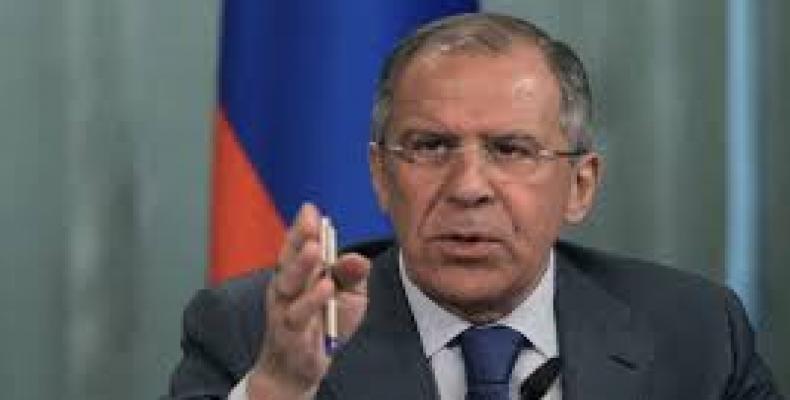 Serguei Lavrov, rusa ministro pri eksteraj aferoj
