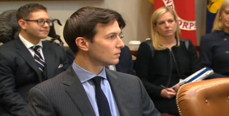 Donald Trump's son-in-law Jared Kushner.  Photo: AP