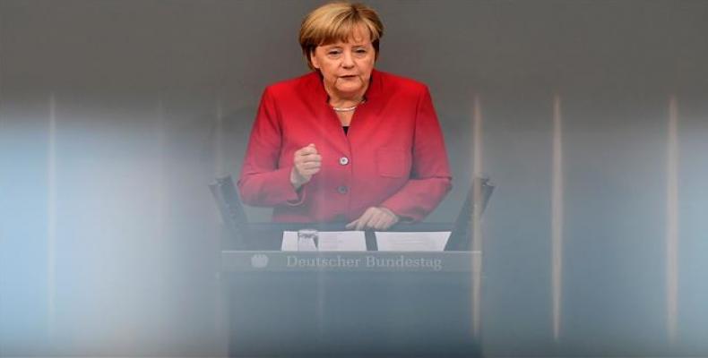 Angela Merkel. Foto: Archivo