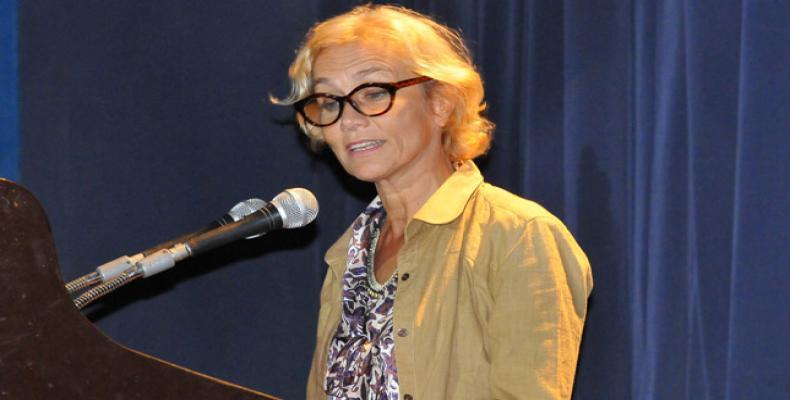 UN Resident Coordinator in Cuba Myrta Kaulard