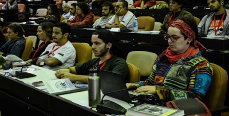 El Encuentro Juvenil es una actividad colateral de la II Conferencia Internacional Con Todos y Para el Bien de Todos. Foto: Marcelino Vázquez/ACN
