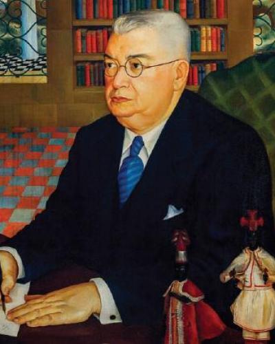 Cuban ethnologist Fernando Ortíz
