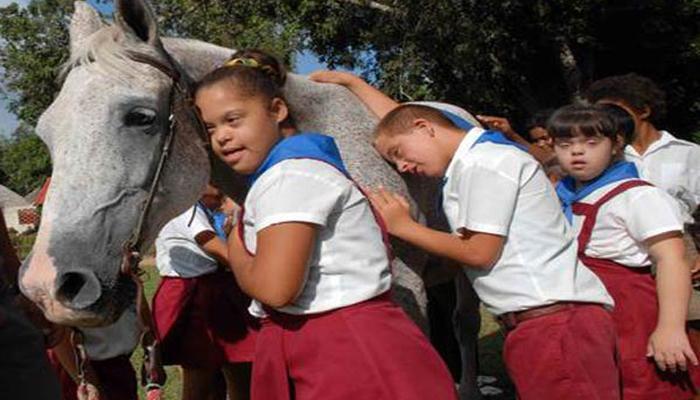La enseñanza especial es una prioridad para el gobierno cubano. Foto: Archivo