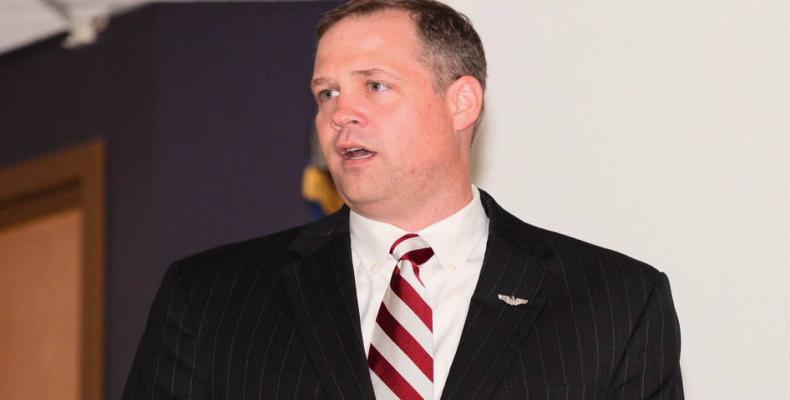 U.S. Congressmember Jim Bridenstine