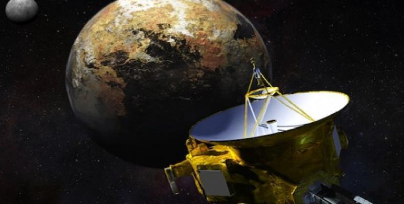 Nave New Horizons de la NASA.Imágen:Internet.