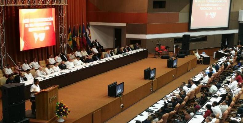 Acto de clausura del XVI Consejo Político de la Alianza Bolivariana para los pueblos de Nuestra América - Tratado de Comercio de los Pueblos (ALBA-TCP)