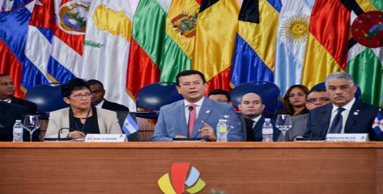 El Salvador asume presidencia de la CELAC