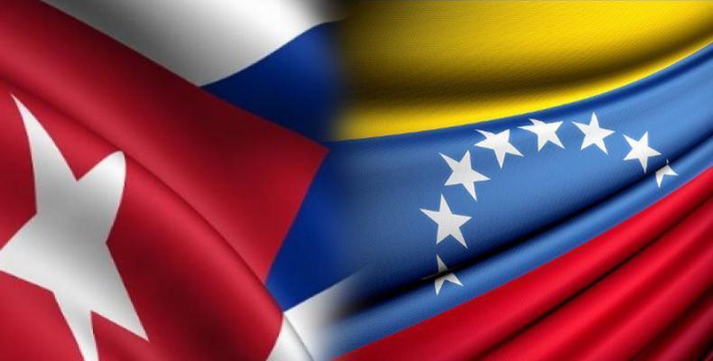 La presencia de Díaz-Canel en Caracas ratifica la hermandad de los pueblos cubano y venezolano. Foto: Archivo