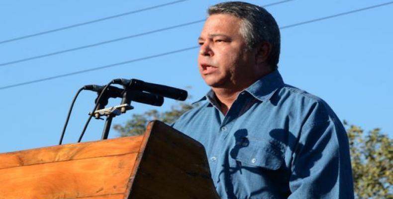 Guilarte destacó que el desfile por el 1 de mayo es el ejercicio de movilización masiva más grande que se hace en el país. Fotos: Archivo