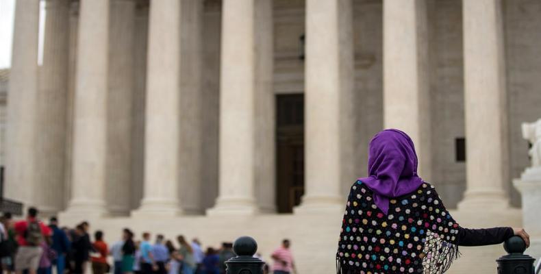 U.S. Supreme Court decision upholds Trump's travel ban.  Photo: Reuters