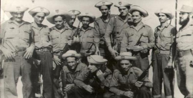 En muchos escenarios, los milicianos cubanos defendieron la soberanía de la patria. Fotos: Internet