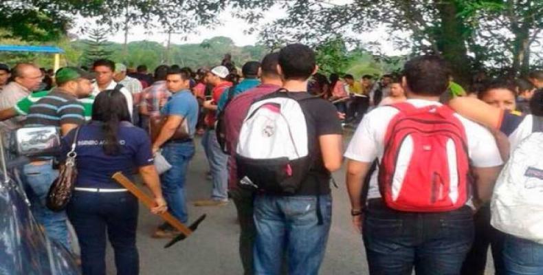 Cerca de 70 000 alumnos retomaron las clases en la Universidad Nacional Autónoma de Honduras,