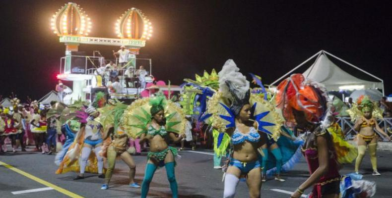 Carnivals kicked off in Havana this weekend, will extend for two more weeks. Photo: Granma
