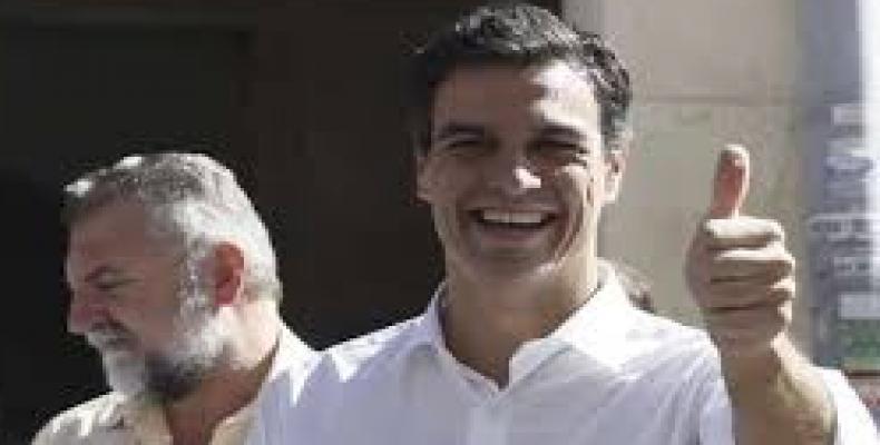 Líder del Psoe, Pedro Sánchez