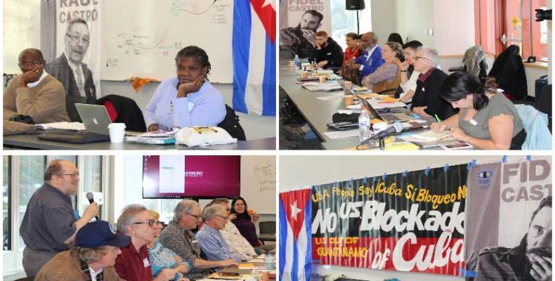 La Reto Nacia de solidadeco al Kubo en Usono