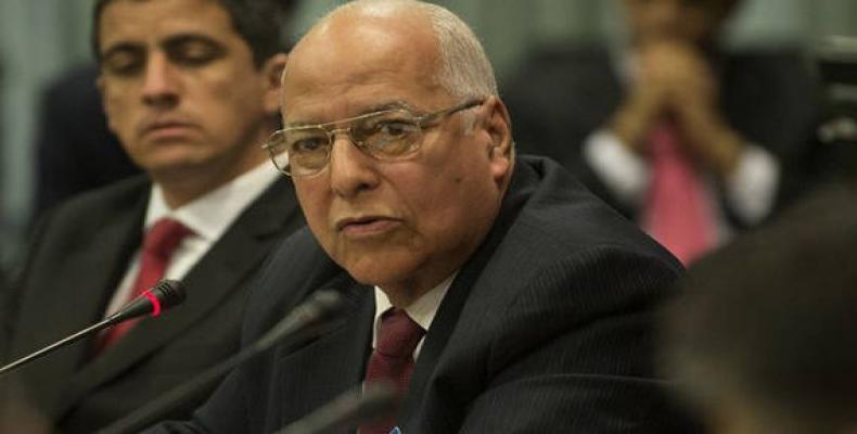 Cuban vice president Ricardo Cabrisas Ruiz
