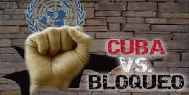 Vicepresidente cubano agradece apoyo internacional en la lucha contra el bloqueo.Foto:Archivo.