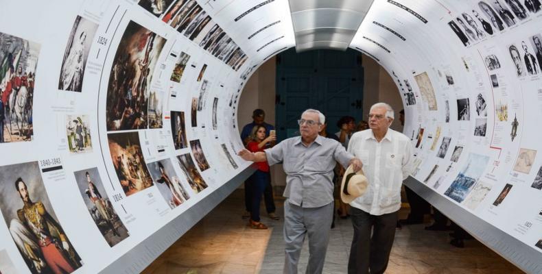 Las dos personalidades visitaron varias instituciones del Centro Histórico. Fotos: Marcelino Vázquez Hernández