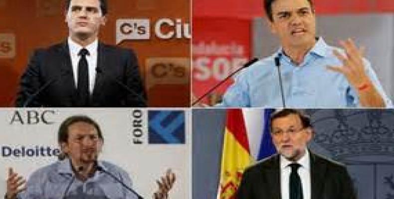 Principales personajes de la actual política en España