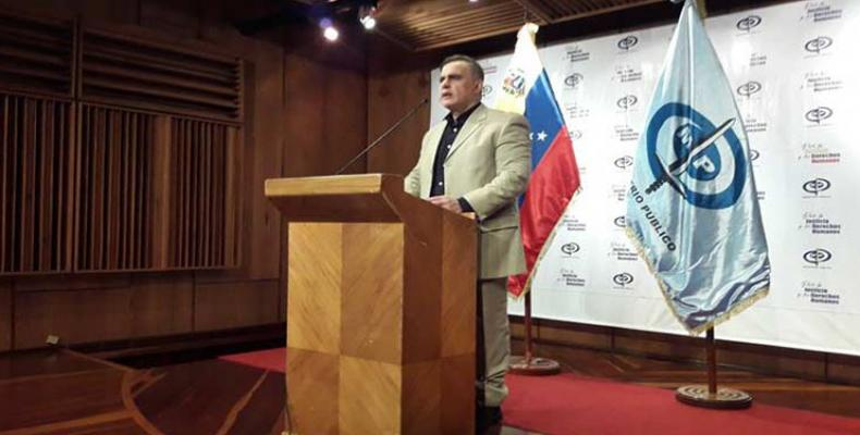 Attorney General Tarek William Saab denounced U.S. hostile measures prevent purchase of drugs to counter COVID-19. PL Photo