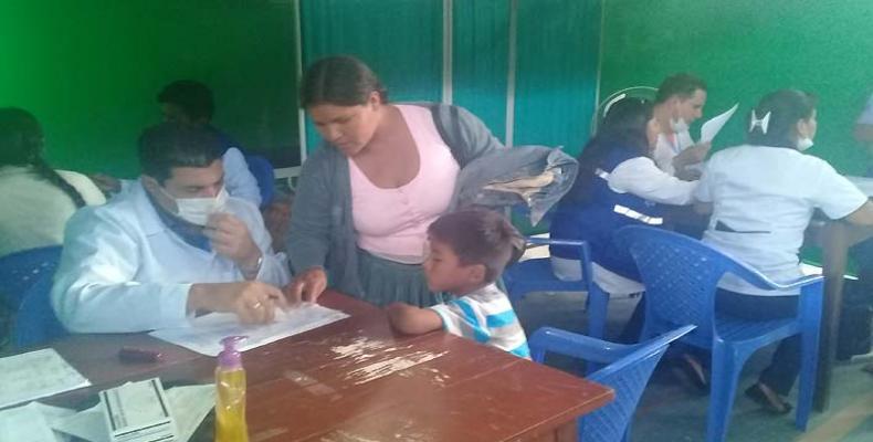 Brigada Médica Cubana en Bolivia.Foto/Archivo.