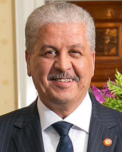 Primer Ministro de Argelia, Abdelmalek Sellal