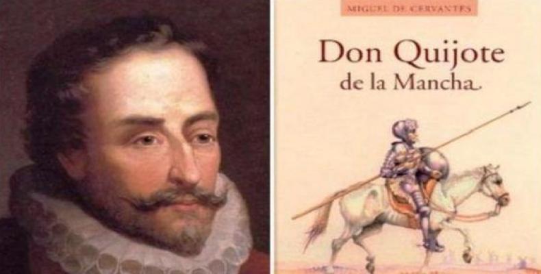 La Academia Cubana de la Lengua rendirá homenaje este lunes a Miguel de Cervantes.Foto:Archivo.