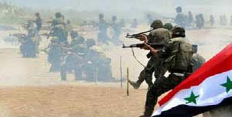 Ofensiva del ejército sirio sigue adelante