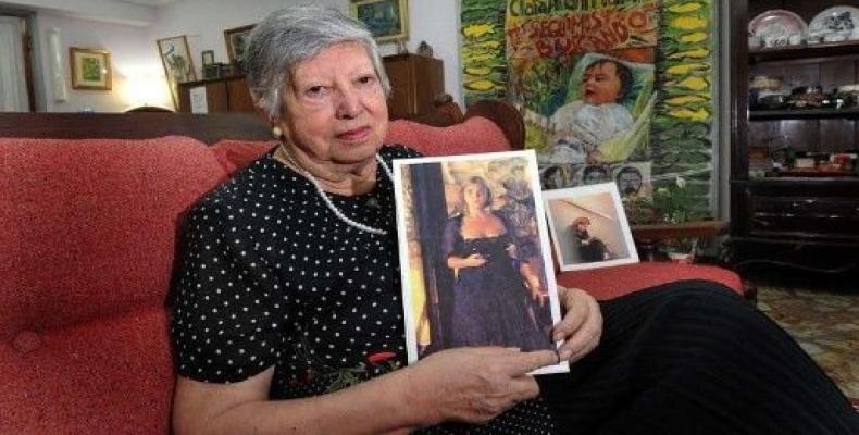 Fallece una de las fundadoras de la Asociación Abuelas de Plaza de Mayo. Foto: @edgardotlsur.