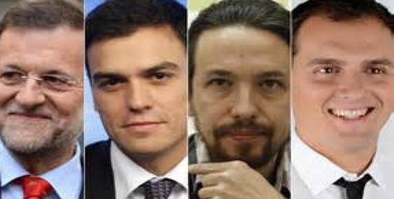 Principales líderes políticos españoles