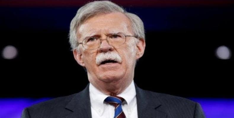 United States National Security Adviser John Bolton.  Photo: Reuters FILE