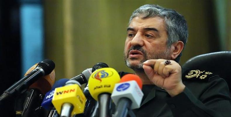Major General Mohammad Ali Jafari, chief commander of Iran's Islamic Revolution Guards Corps (IRGC).  Photo: Press TV