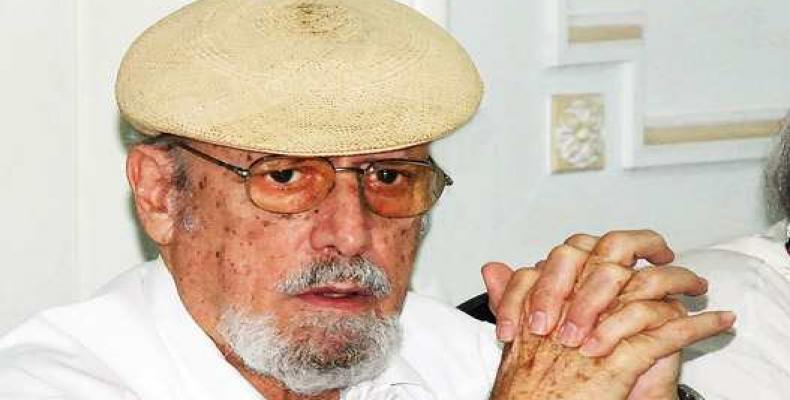Fernández Retamar falleció el 20 de julio de 2019, en La Habana, a los 82 años de edad. Foto: Revista Bohemia