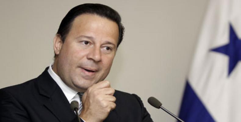 Presidente de Panama Juan Carlos Varela