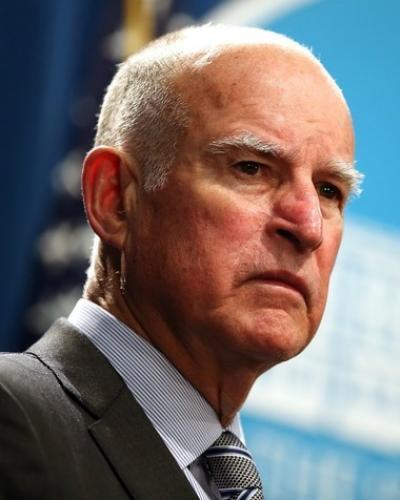 Gobernador de California Jerry Brown. Foto/10News