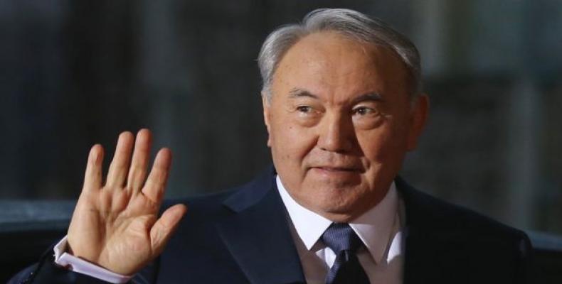 Presidente de Kazajstán, Nursultán Nazarbáyev