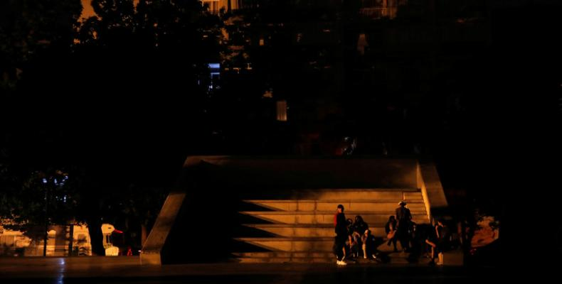 Un apagón en Caracas, 30 de marzo de 2019. Ivan Alvarado / Reuters