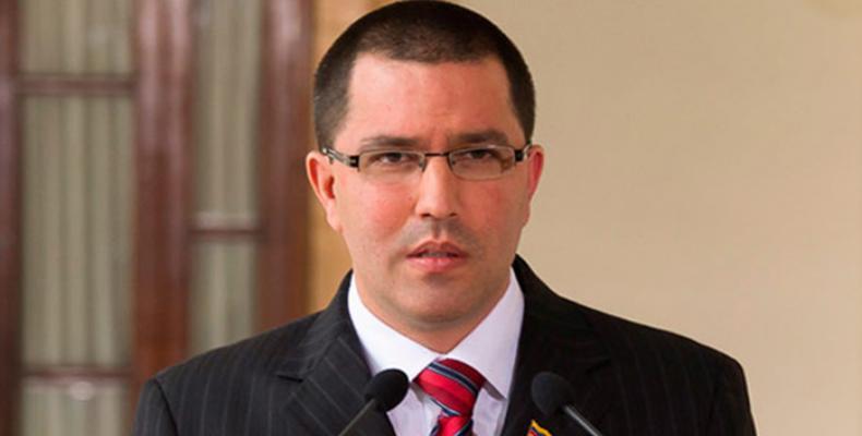 Venezuelan Foreign Minister, Jorge Arreaza. File photo
