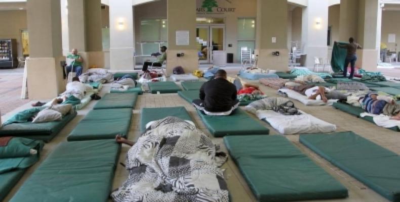Un albergue para desamparados . Foto: El Nuevo Herald