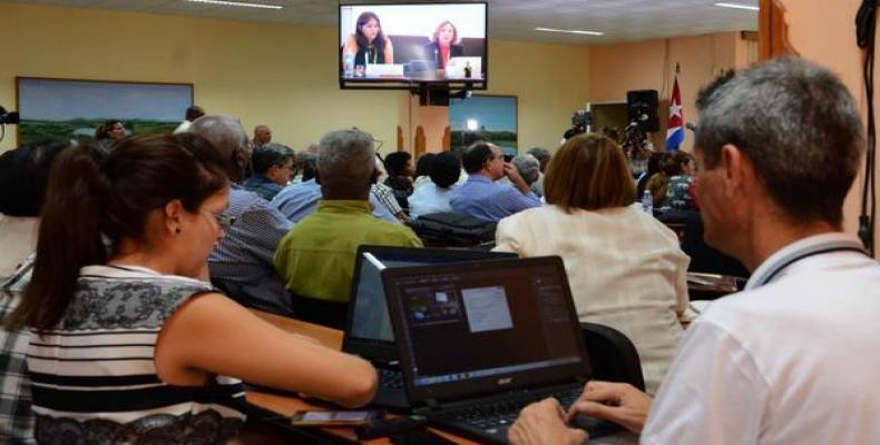 La reunión de este miércoles en La Habana coincidió con el Diálogo Hemisférico, en Lima. Foto: Abel Padrón/ACN